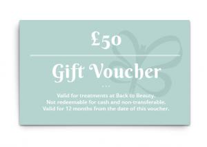 Sarah Butler Therapies Gift Voucher mock