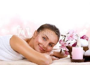 Pamper Parties - Woman with Flower Basket