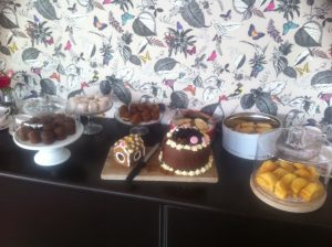 cakes made by donna of mad henry's tea room