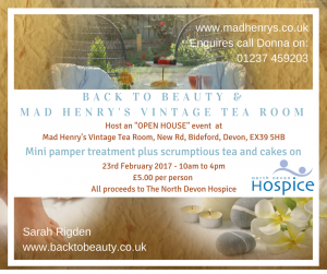 mad henry's vintage tea rooms open house