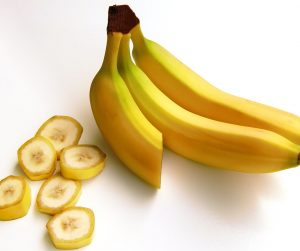 Bananas are great for helping to stop cramps