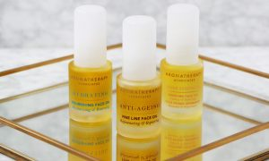 Aromatherapy facial oils
