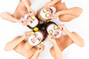 Pamper parties available with Sarah Butler Therapies