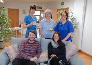 Sarah Butler works as a volunteer in the North Devon Hospice