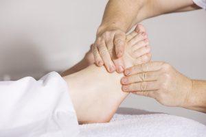 reflexology is available with Sarah of Sarah Butler Therapies