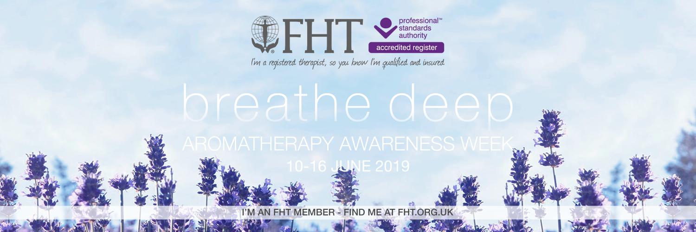 Aromatherapy Awareness Week 10 – 16 June 2019
