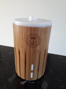 Aromatherapy oil diffuser may help with stress