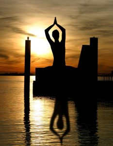 Yoga can help with stress and anxiety